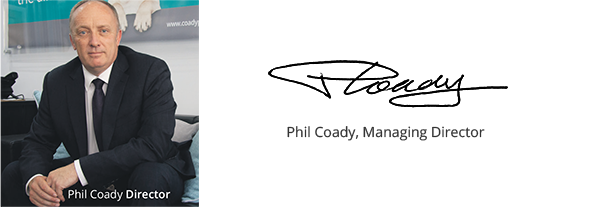 Phil Coady, Managing Director